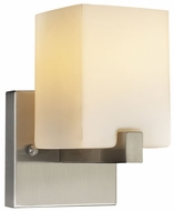 PLC 7271-SN Megan Wall Sconce in Satin Nickel