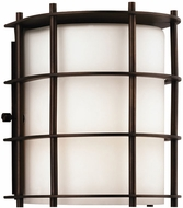 Forecast F8490-68 Hollywood Hills Contemporary Outdoor Bronze Wall Fixture - 6.5 inches tall