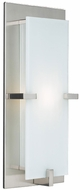 PLC 909-SN Polipo 16 inch high Wall Sconce in Satin Nickel