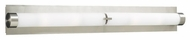 PLC 934 Polipo 36 inches wide Bathroom Light in Satin Nickel