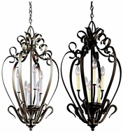 Kichler 42502 Large 6 Candle 30 Inch Tall Traditional Foyer Light Fixture