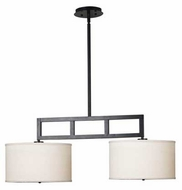Kenroy Home 10062ORB Endicott Small Modern Kitchen Island Light