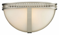 ELK 10190/1 Hemispheres Polished Nickel 13 Inch Wide Transitional Wall Sconce Light