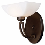 ELK 10040/1 Arches 9 Inch Wide Aged Bronze Transitional Lighting Sconce