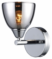 ELK 10070/1 Reflections Chrome 8 Inch Tall Wall Light Fixture