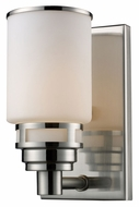 ELK 11264/1 Bryant 8 Inch Tall Wall Lighting Fixture - Satin Nickel