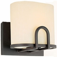 Troy B1811FBZ Redmond Single Light Wrought Iron Wall Sconce