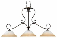 Quoizel DH348PN Duchess Kitchen Island Light in Palladian Bronze