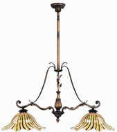 Maxim 13110-TGWW(OSS) Vigneto 2 Light Kitchen Island Fixture (Over-Stock Sale)