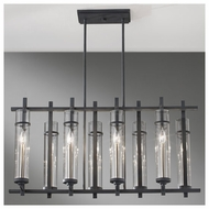 Feiss F26308AFBS Ethan 8-light Contemporary Kitchen Island Light