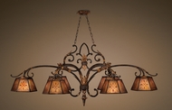 Fine Art Lamps 302540 Villa 1919 Traditional Rustic Kitchen Island Light
