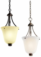 Kichler 42072 Durham 10 Inch Diameter Pewter Or Bronze Foyer Pendant Lighting