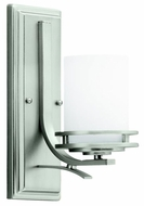 Kichler 5076NI Hendrik Wall Sconce in Brushed Nickel