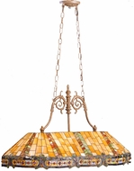 Kichler 65101 Tiffany Art Glass Creations 3 Light Billiard Table Fixture