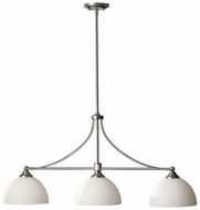 Feiss F2730-3-BS Morgan 3 Lamp 37 Inch Long Kitchen Island Lighting