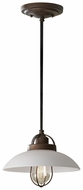 Feiss P1241-BZP Urban Renewal 10 Inch Diameter Bronze Patina Finish Lighting Pendant
