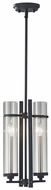 Feiss P1251-AF-BS Ethan Contemporary 2 Candle 17 Inch Tall Drop Ceiling Lighting