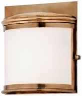 Troy B3323 Rotterdam Transitional 11 Inch Tall Brass Exterior Light Sconce - Large