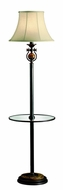 Kichler 74142 Seneca Traditional Tray Floor Lamp