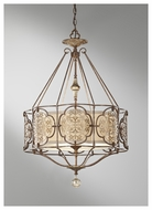 Feiss F26973BRBOBZ Marcella Traditional 3-light Pendant Uplight