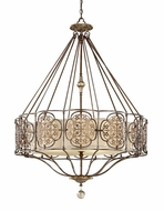Feiss F26034BRBOBZ Marcella Traditional Pendant Light