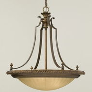 Feiss F24223FGBRB Kelham Hall Traditional Pendant Uplight