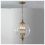 Feiss P1204OSL Argento Foyer Pendant