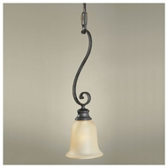 Feiss P1082LBR Cervantes Traditional Mini Pendant Light