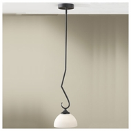 Feiss P1221BK Merrit Contemporary Mini Pendant Light