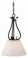 Feiss P1198BK Peyton Pendant Light