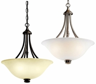 Kichler 42067 Durham 3 Lamp 18 Inch Diameter Hanging Inverted Pendant Lamp