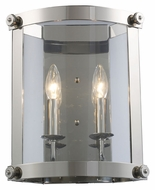 Landmark 66260-2 Chesapeake 2 Candle Transitional Style Polished Nickel Wall Lighting