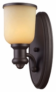 Landmark 66170-1 Brooksdale 13 Inch Tall Transitional Oiled Bronze Light Sconce