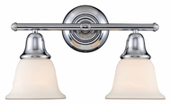 Landmark 67011-2 Berwick 17 Inch Wide Polished Chrome Transitional Bathroom Lighting