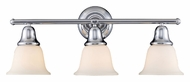 Landmark 67012-3 Berwick 3 Lamp Transitional 27 Inch Wide Vanity Lighting Fixture