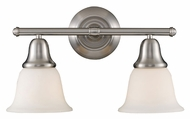 Landmark 67021-2 Berwick 17 Inch Wide Transitional Brushed Nickel Vanity Light