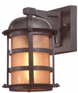 Troy B9250NB Aspen Outdoor Wall Sconce - 6 inches wide