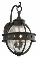 Troy B3682 Mendocino Medium 3 Lamp Transitional Exterior Wall Lamp - Forged Black