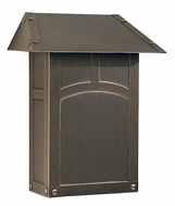 Arroyo Craftsman EMB Evergreen Craftsman Mail Box - 9.5 inches wide