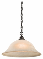 Kichler 43233OZ Camerena Olde Bronze Finish White Scavo Glass Drop Ceiling Lighting