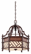 Kichler 43248CYZ Rum Cove Medium Cayman Bronze 18 Inch Diameter Tropical Drop Ceiling Lighting