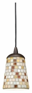Kichler 65383 Blythe Mini Tiffany Art Glass 5 Inch Diameter Drop Ceiling Lighting