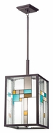 Kichler 65391 Caywood Tiffany 14 Inch Wide Drop Ceiling Light Fixture