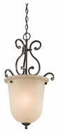 Kichler 43228OZ Camerena 27 Inch Tall Small Foyer Lighting Fixture - Olde Bronze