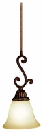 Kichler 2703TZG Larissa Decorative Bronze 14 Inch Tall Mini Pendant Lighting Fixture
