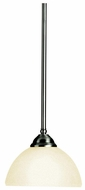 Kichler 2773AP Lombard Modern Pewter 6.5 Inch Tall Rod Hanging Mini Pendant Lighting