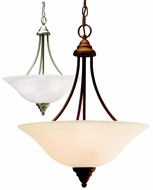 Kichler 10706 Telford 17.5 Inch Diameter Inverted Drop Lighting