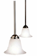 Kichler 10771 Dover Bell Shade 7 Inch Tall Mini Pendant Lighting