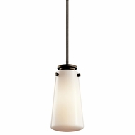 Kichler 42166OZ Knox Small Olde Bronze Modern Pendant Lighting