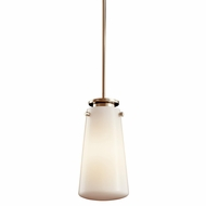 Kichler 42166PN Knox Small Polished Nickel Contemporary Pendant Lighting